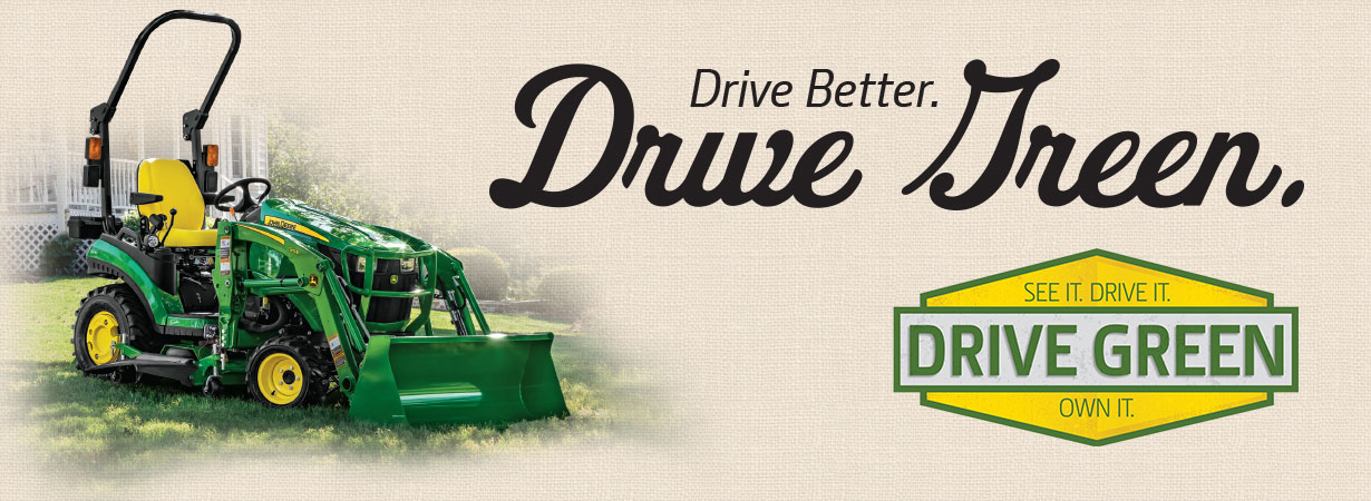 John Deere Drive Green Events
