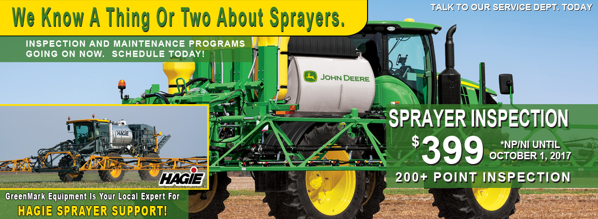 Sprayer Inspection Special