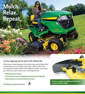 John Deere Mulch Kit