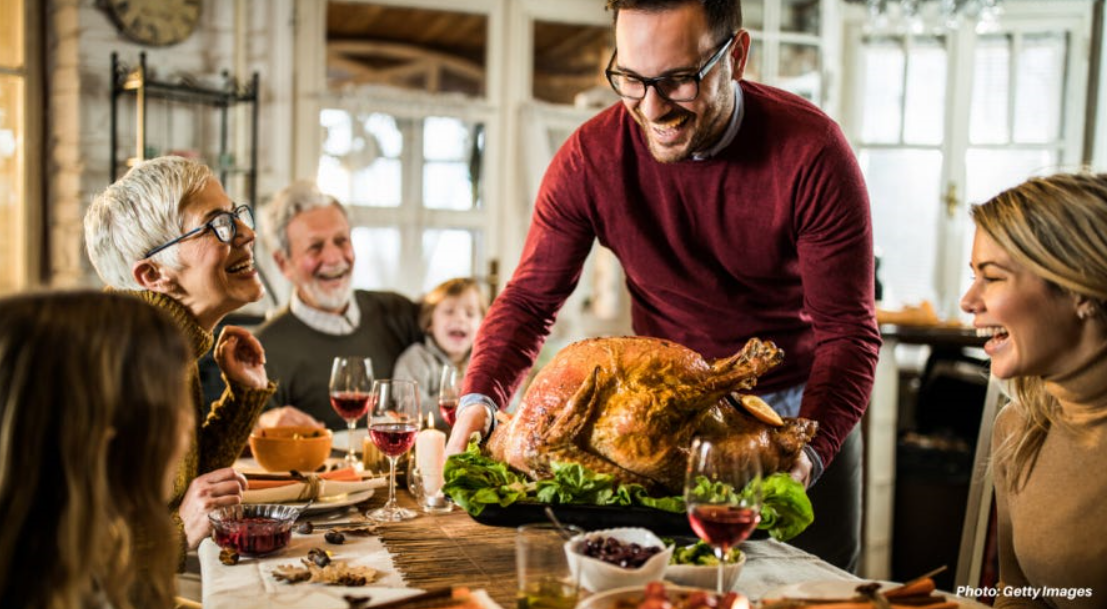 Thanksgiving dinner cost rises only a penny