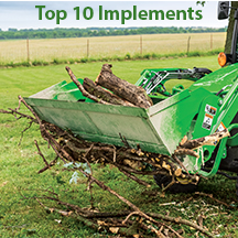 Top 10 Implements